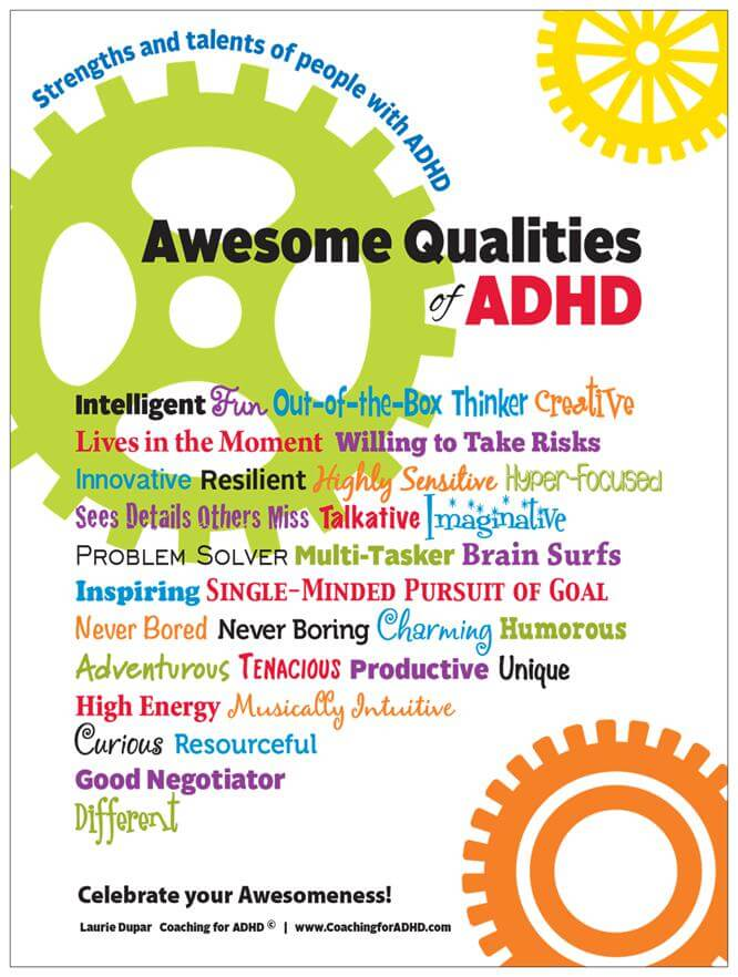 Celebrate the Strengths of ADHD!